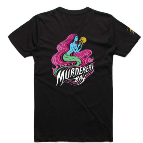 Murderers Bay tshirt back